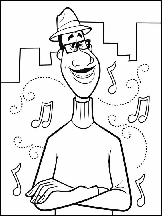 Soul coloring pages