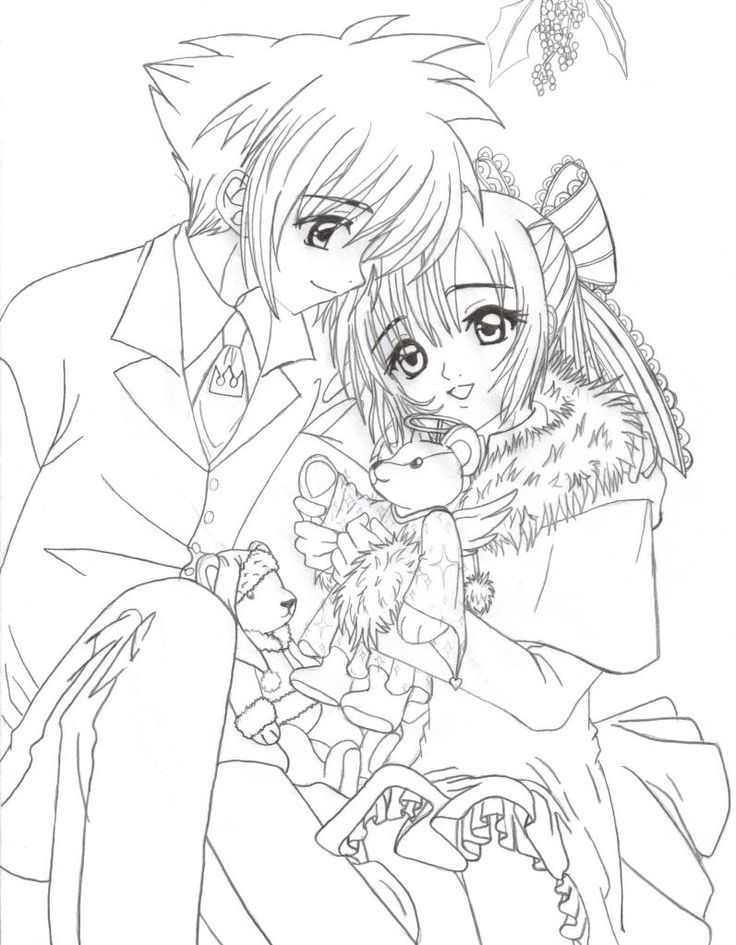 Anime Group Coloring Sheets | Usui Takumi Coloring Page by ...