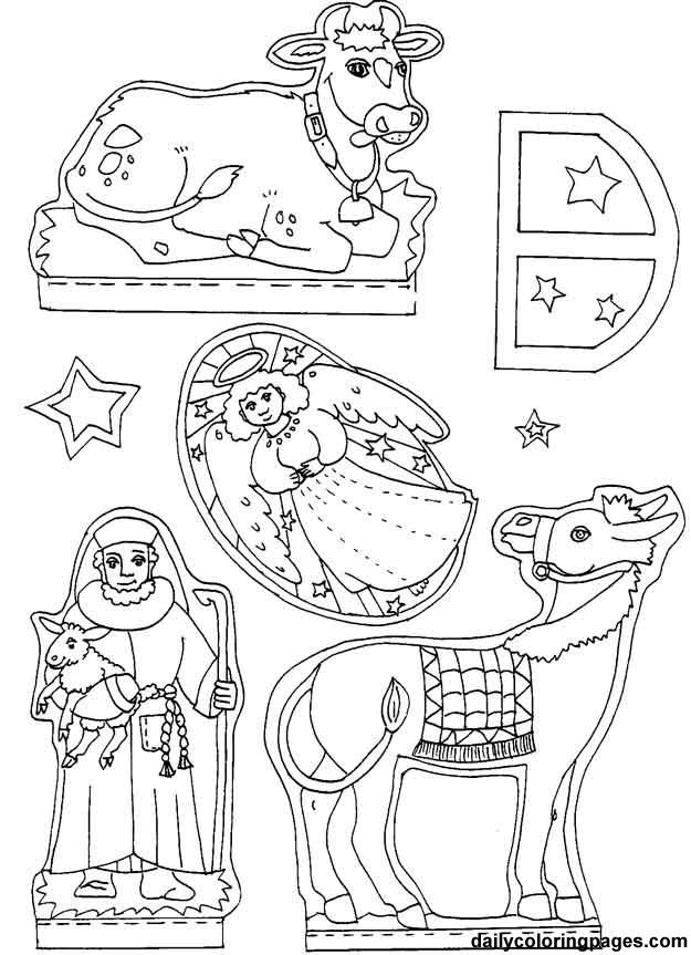 nativity animals coloring pages high quality coloring pages coloring home. Black Bedroom Furniture Sets. Home Design Ideas