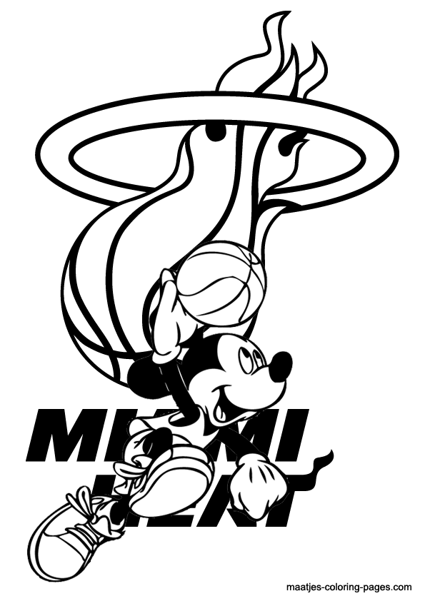 Coloring Pages Nba : Coloring pages nba basketball home