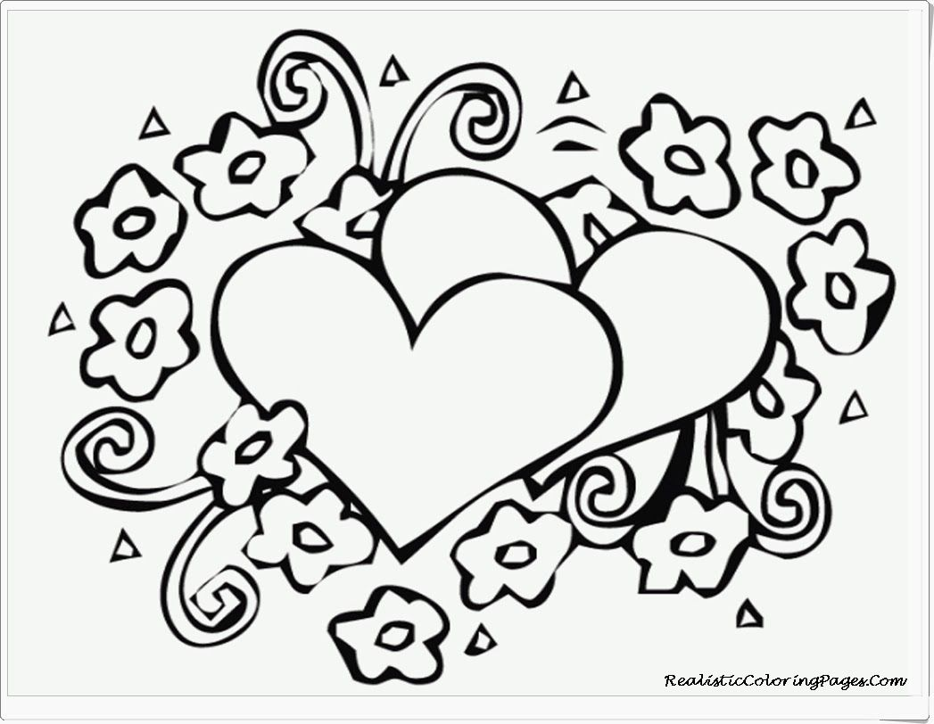 Paw patrol coloring pages valentines - Valentine Coloring Pages 17 Pictures Colorine Net 11300