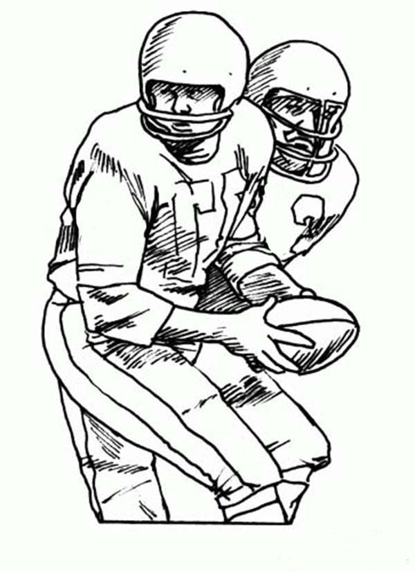 nfl team coloring book pages - photo#30