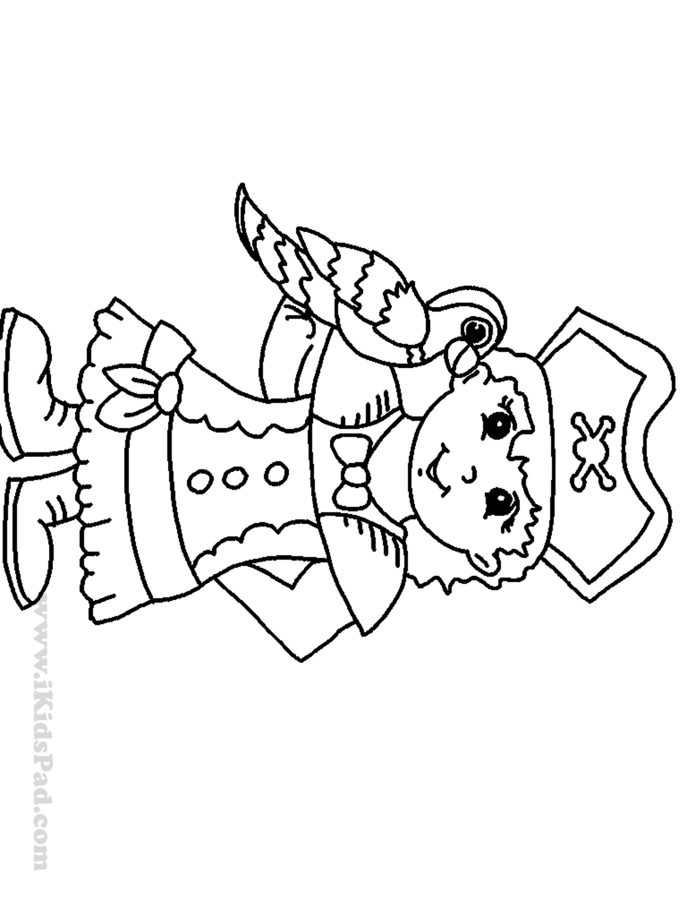 Free Coloring Pages Pirates Coloring Home