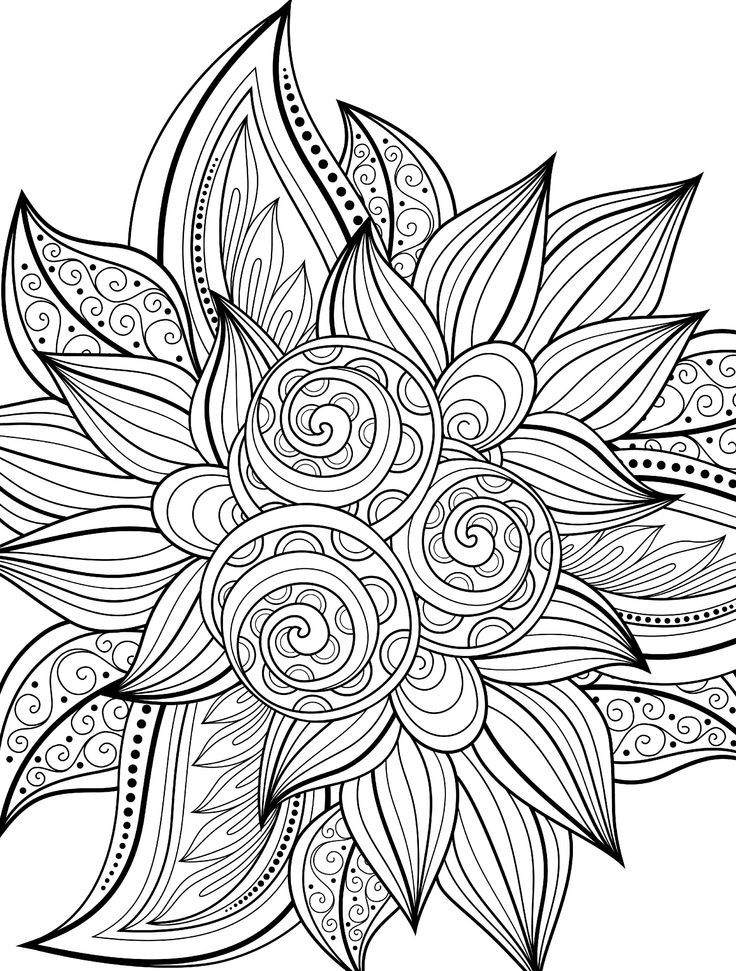 Cool Printable Coloring Pages For Adults - Coloring Home