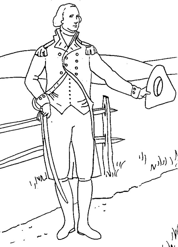 Gee Washington Coloring Pages