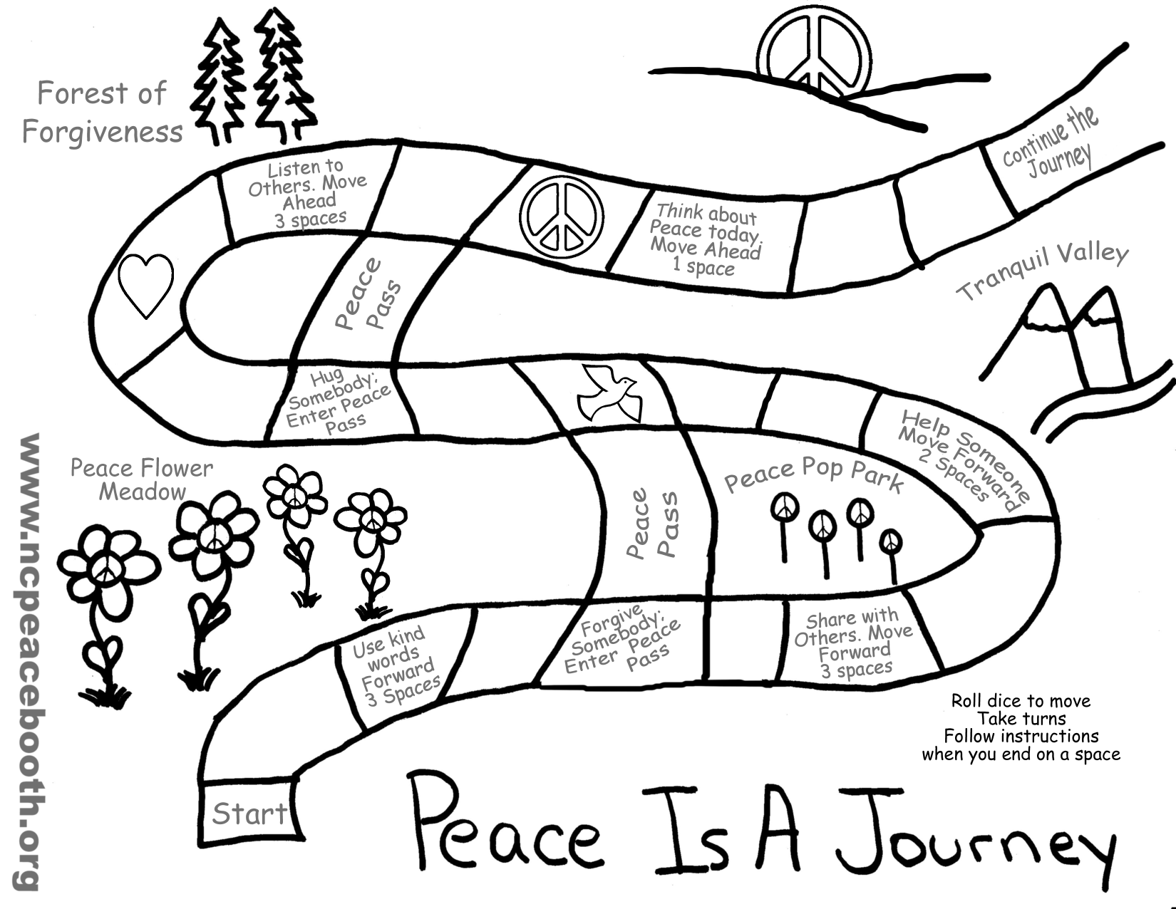 peace free coloring pages - photo#35