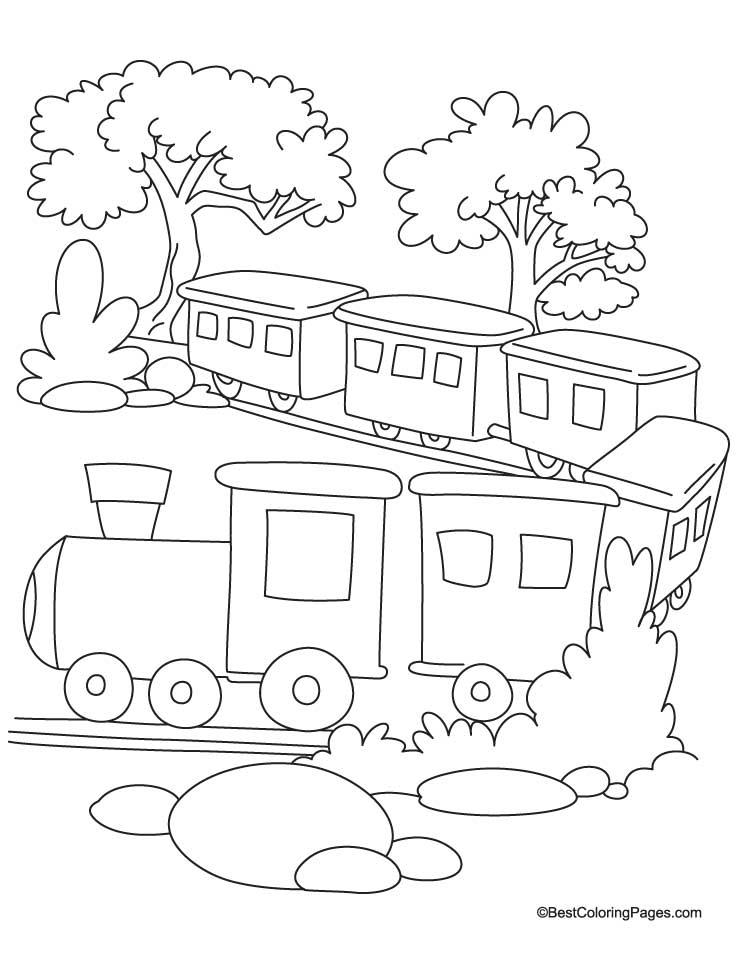 Train Car Coloring Pages : Train car coloring pages home