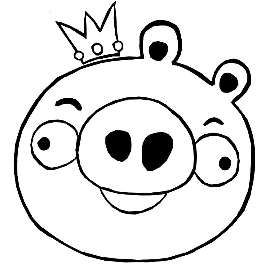 Pig Color Page Az Coloring Pages