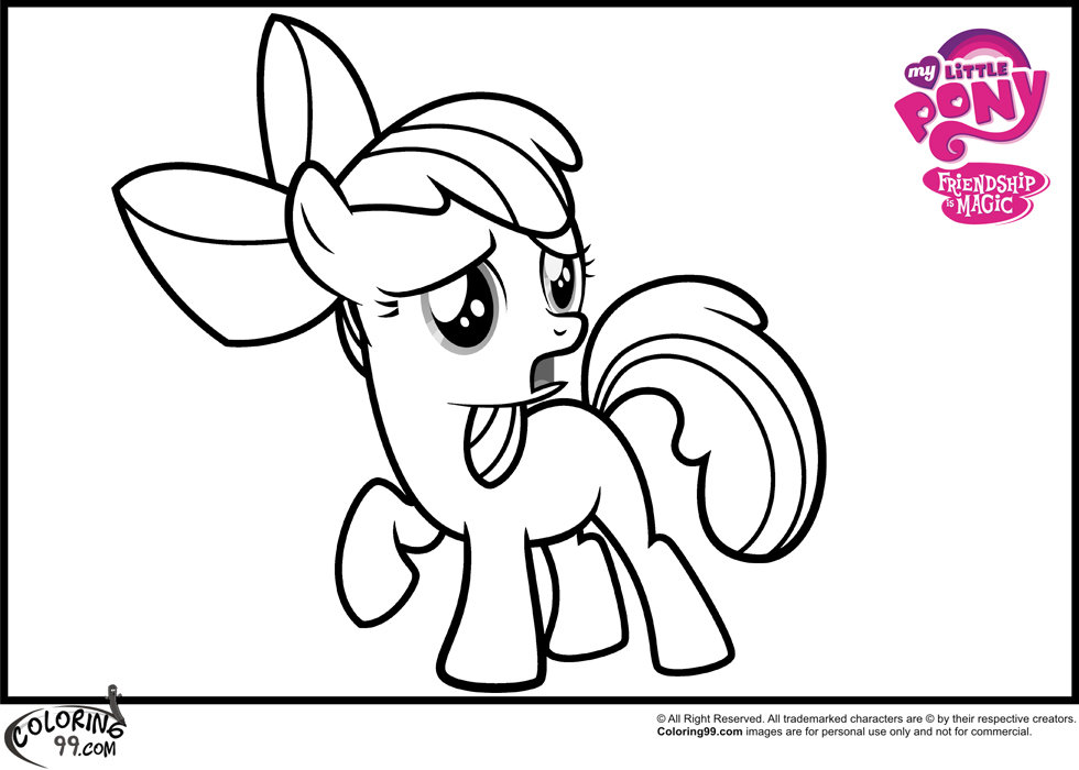My Little Pony Coloring Page Az Coloring Pages Coloring Pagescool My Pony