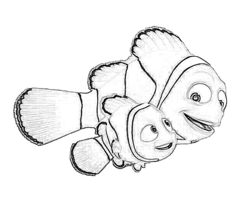 Related Pictures Coloring Pages Finding Nemo Coloring Pages Free