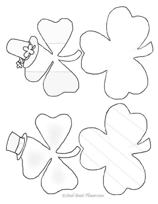 St Patricks Day Coloring Pages With Full Color Guides