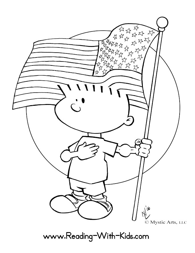 American Flag Color Pages Az Coloring Pages American Color Pages