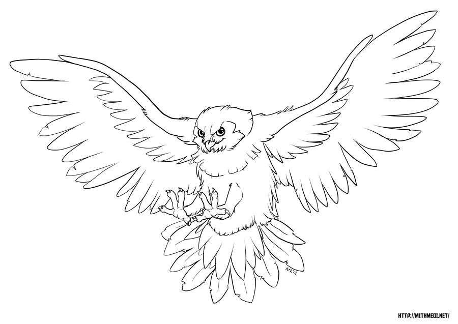 Owl Template - Coloring Home