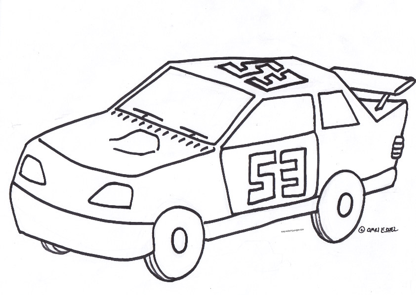 Cool cars coloring pages print car interior design for Cool cars coloring pages