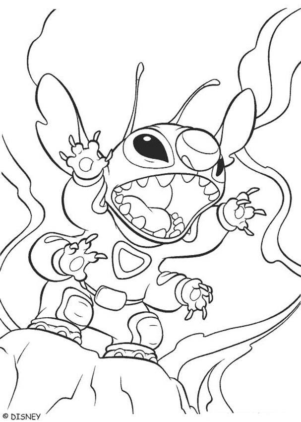 stitch the movie coloring pages - photo#9