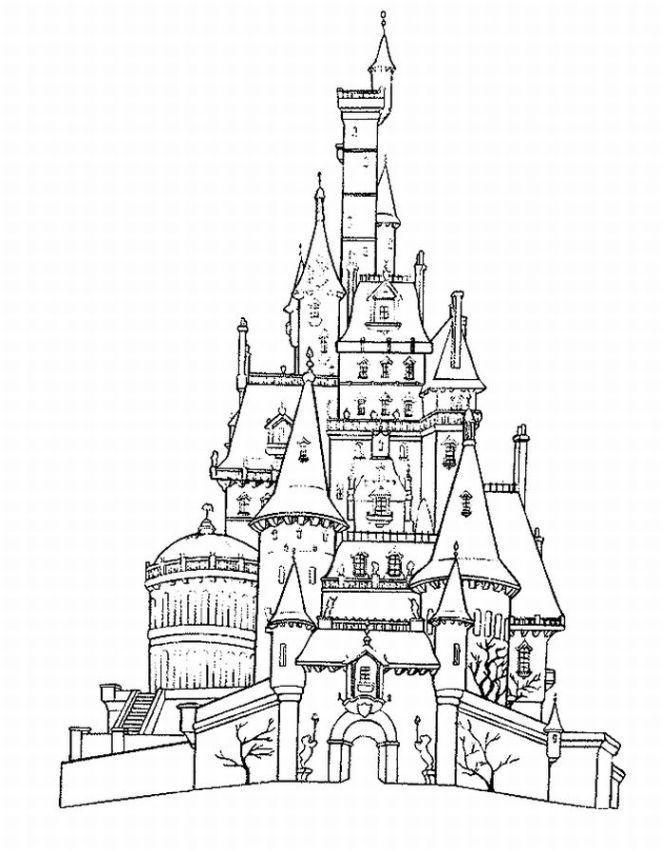 lego castle coloring pages print - photo#8