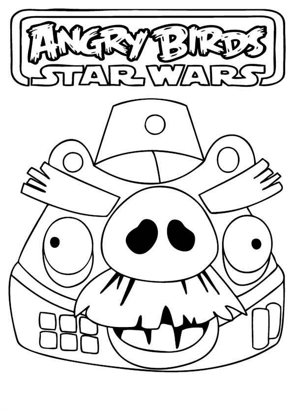 angry birds star wars coloring pictures coloring home