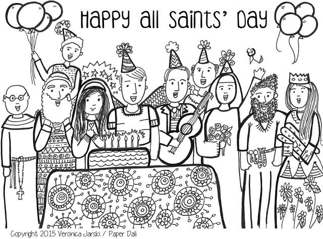 all saint preschool all saints day coloring pages coloring home 303