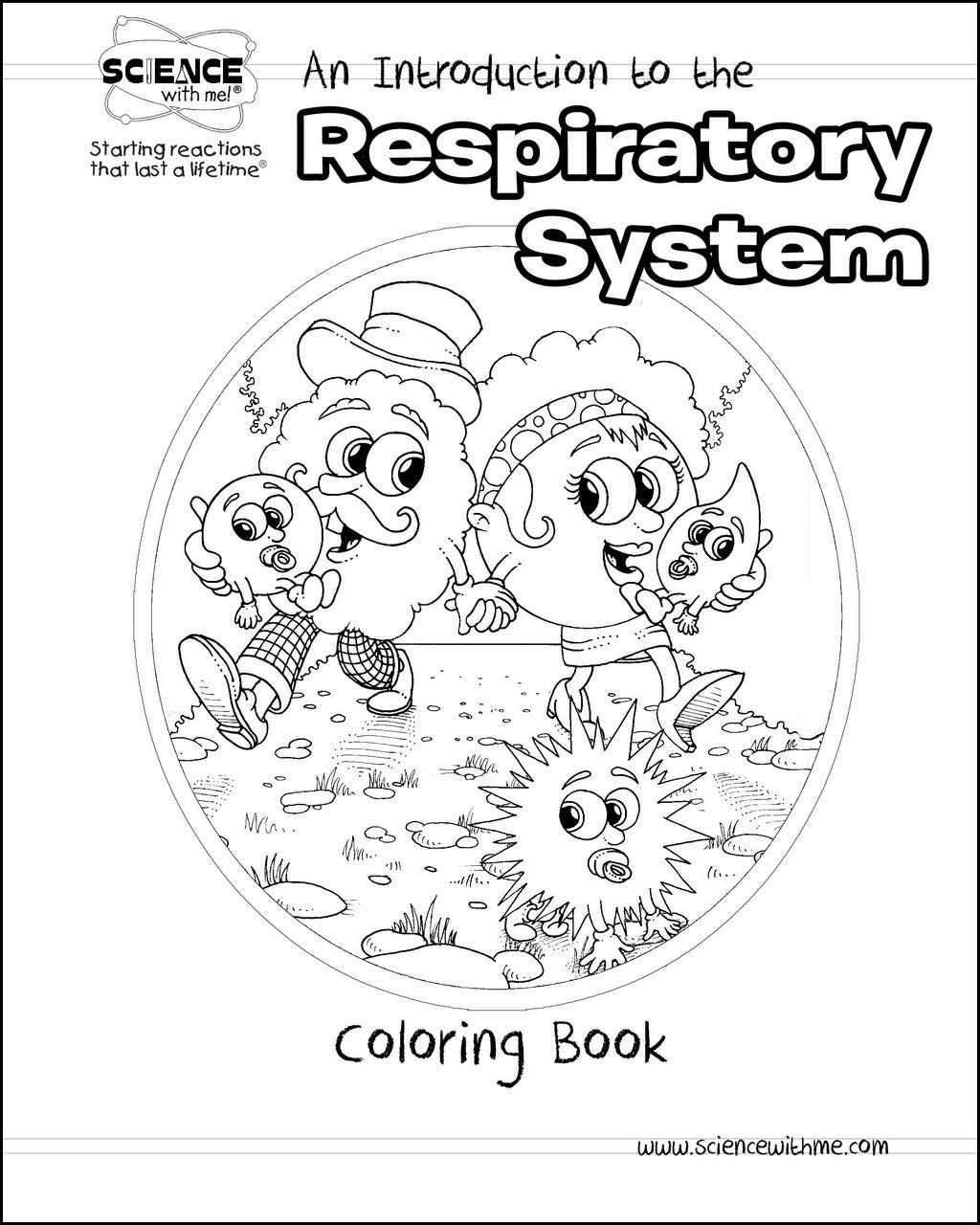 An Introduction to the Respiratory System Coloring Book - Science ...