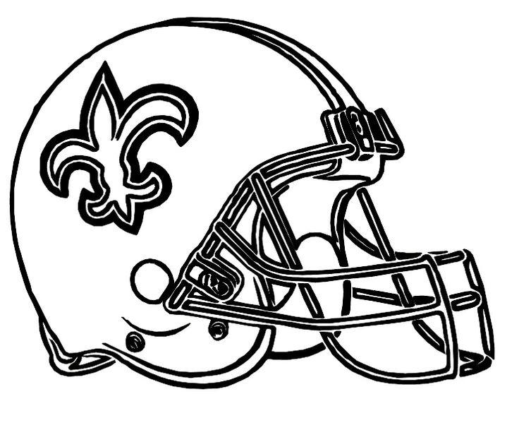 New Orleans Saints Coloring Page Coloring Home Saints Colouring Pages