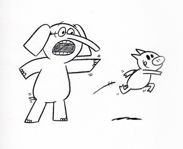 Mo Willems Coloring Pages - Coloring Home