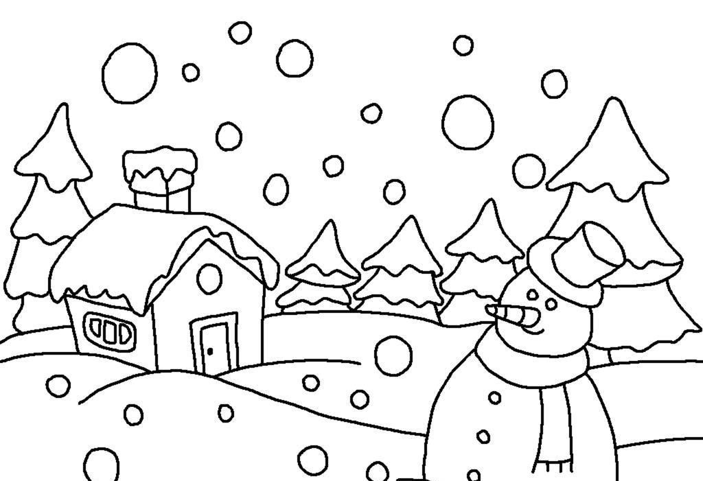 Free Coloring Pages For December Holidays Coloring Home December Coloring Sheets