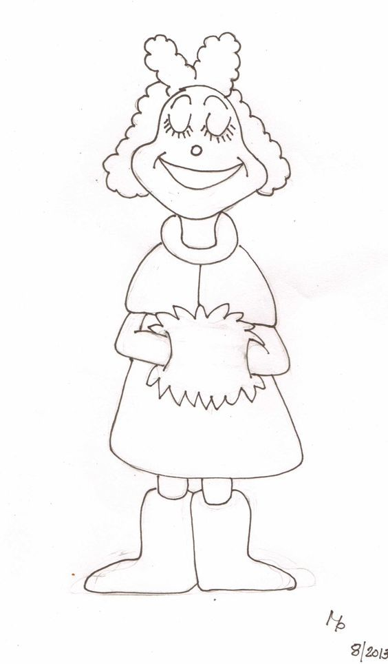 Grinch Full Body Coloring Pages Coloring Home