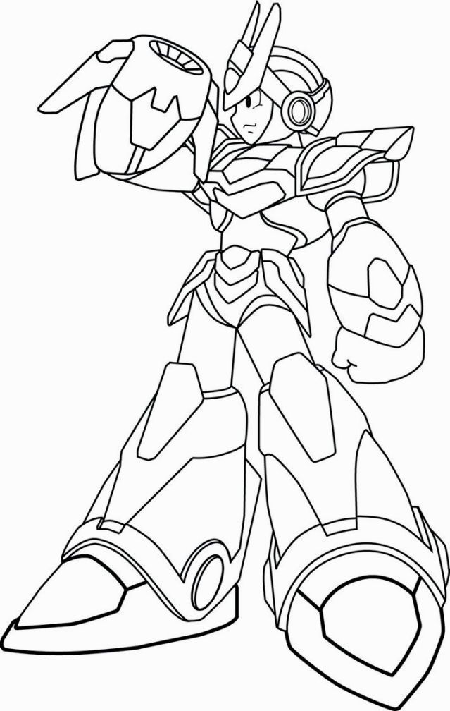 100+ ideas mega man coloring pages on printablecoloring.us - Mega Man Printable Coloring Pages