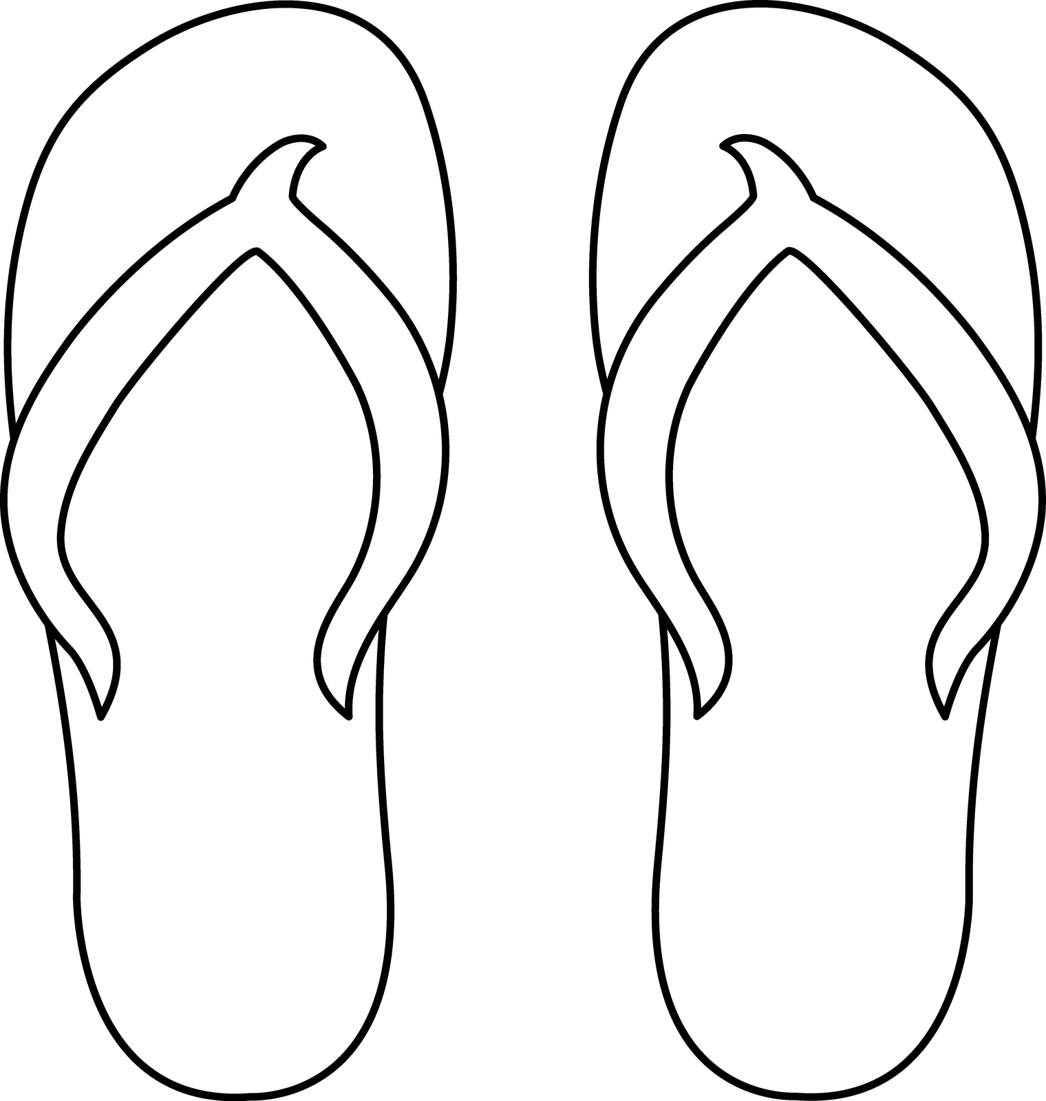 Peaceful image intended for printable flip flop template