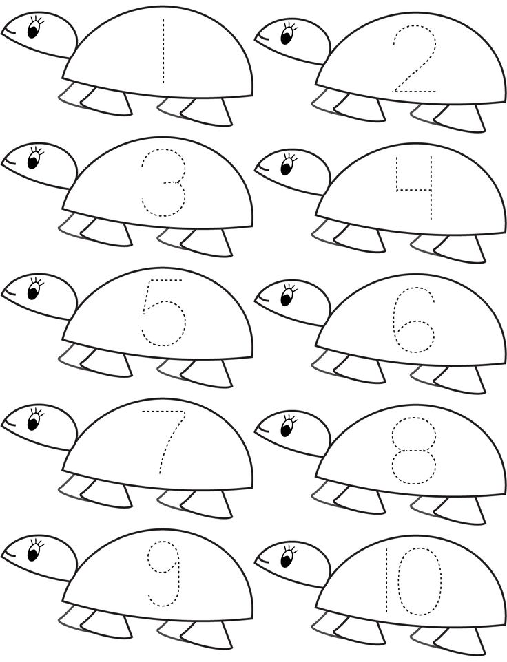 kindergarten counting coloring pages - photo#4