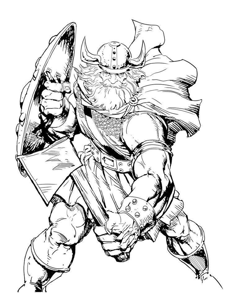 Viking Free Coloring Pages Coloring Home