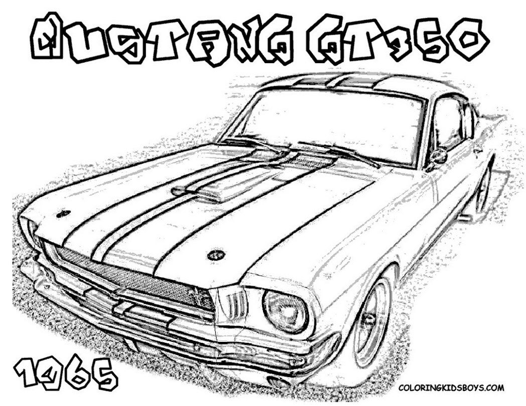 car-coloring-ford-cars-free-sheets-mustangs-374277 Â« Coloring ...