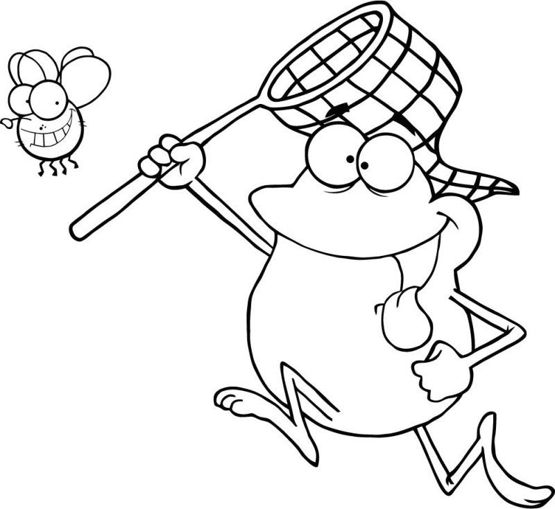 Interesting Fly Guy Coloring Pages Emo Family With