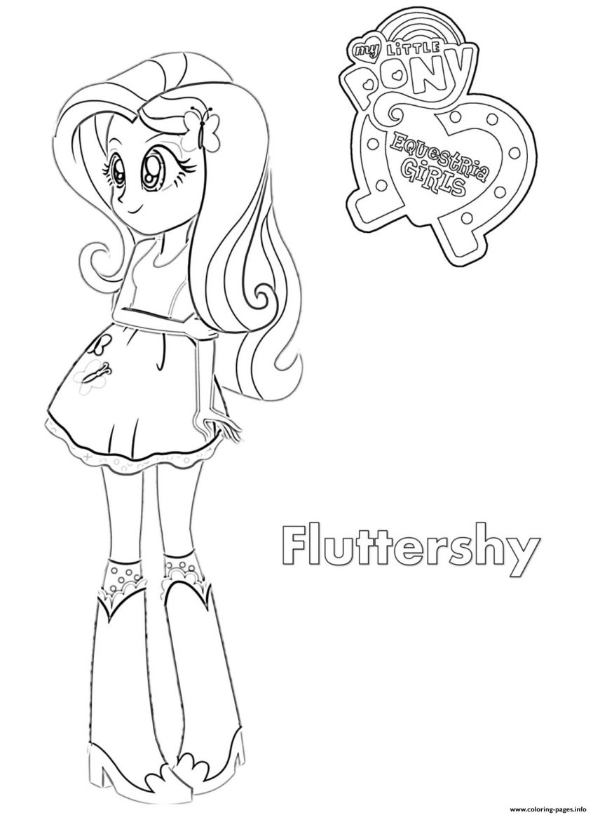 Coloring Pages : 41 Fantastic My Little Pony Girls Coloring ...