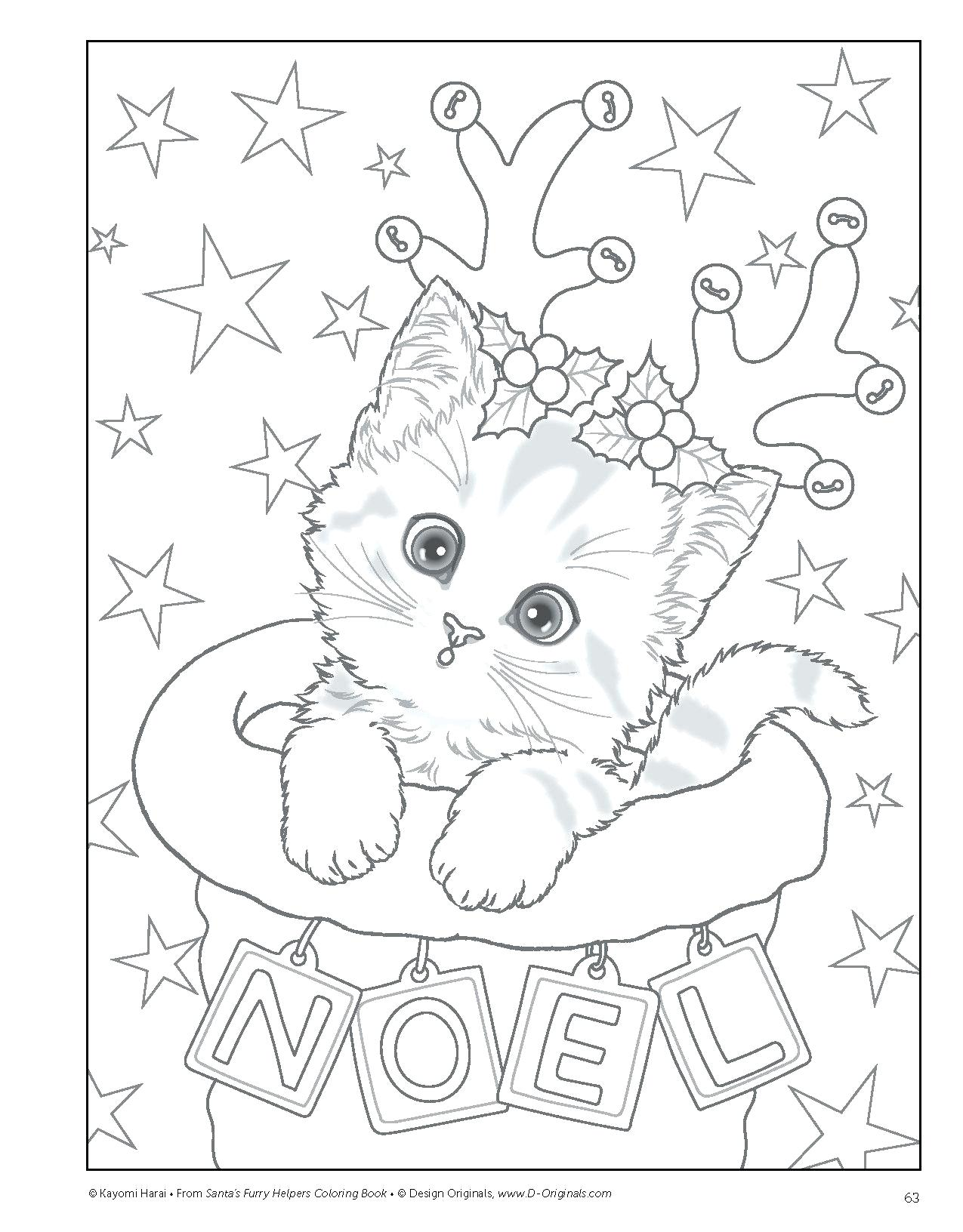 - Preschool Kitten Coloring Pages - Coloring Home