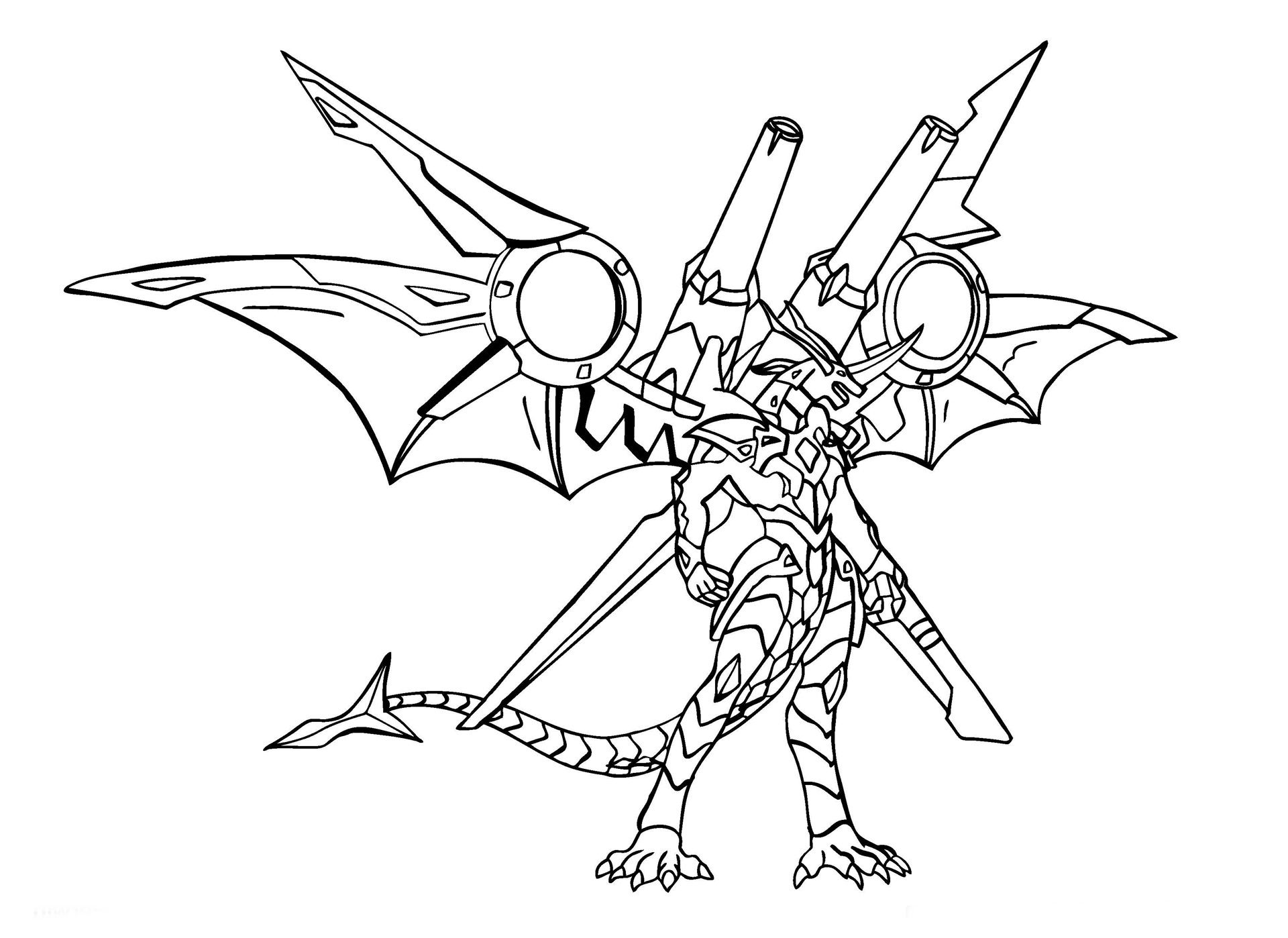 Bakugan pages coloring pages for Bakugan drago coloring pages