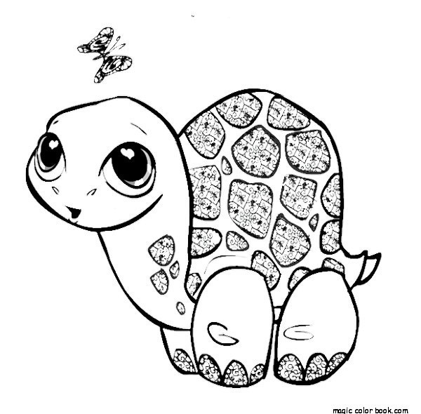 - Free Leatherback Sea Turtle Coloring Page. Coloring Pages Of - Coloring  Home