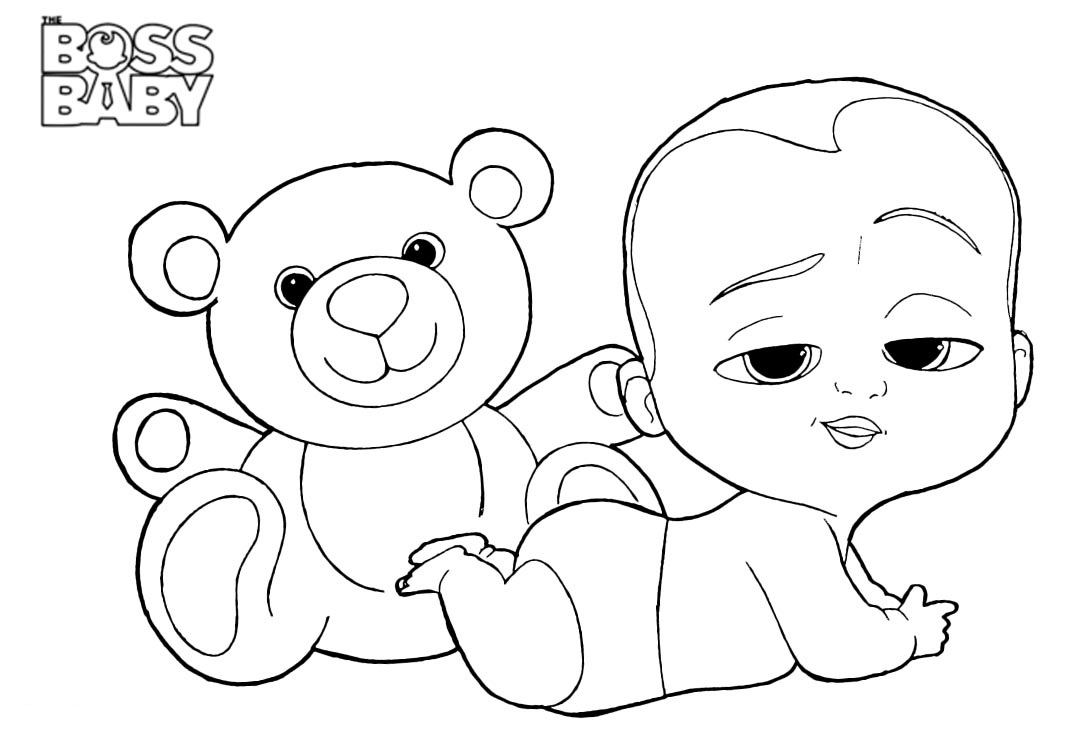 Boss Baby Coloring Pages - Best Coloring Pages For Kids