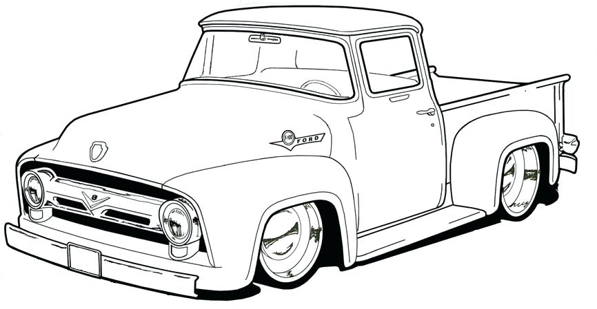 Ford Truck Coloring Pages At Getdrawings Free Download Coloring Home