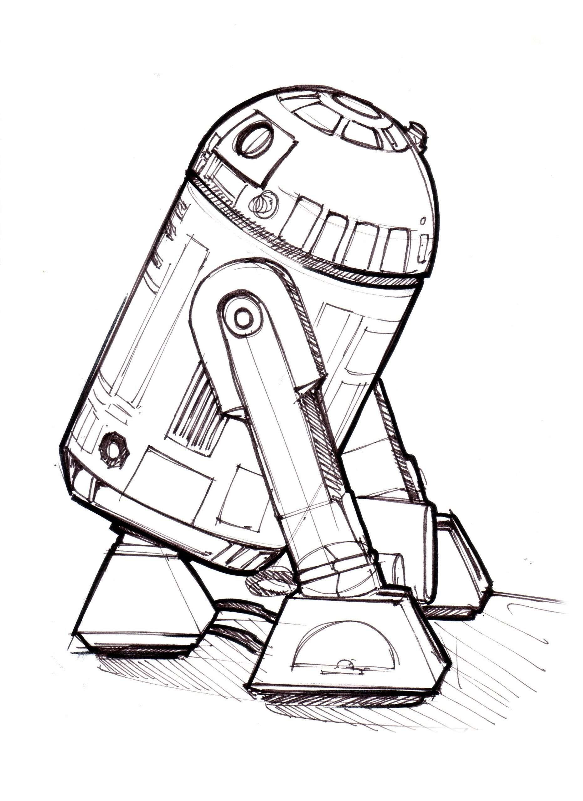 Coloring Pages : R2d2 Sketch Coloring Page Splendi Pages Best For Kids To  Print 48 Splendi R2d2 Coloring Pages ~ Off-The Wall ATL