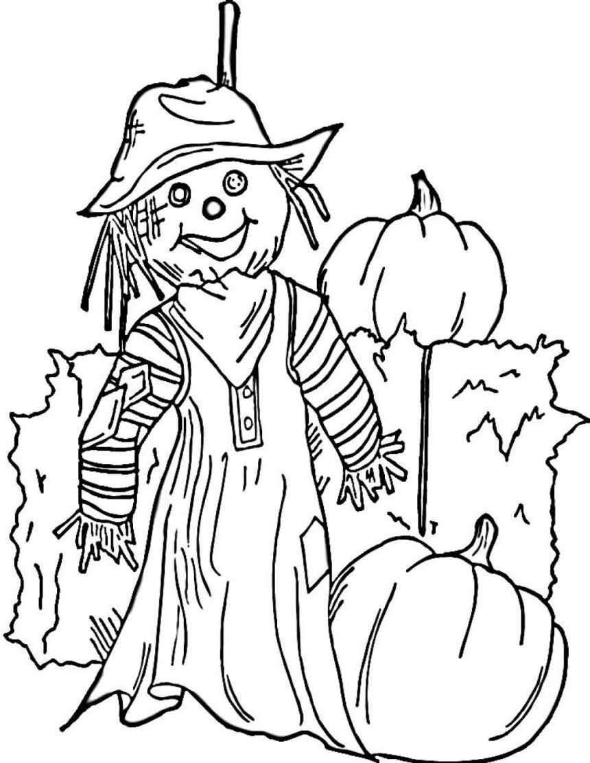 Free Printable Coloring Pages For Halloween | Free Coloring Pages