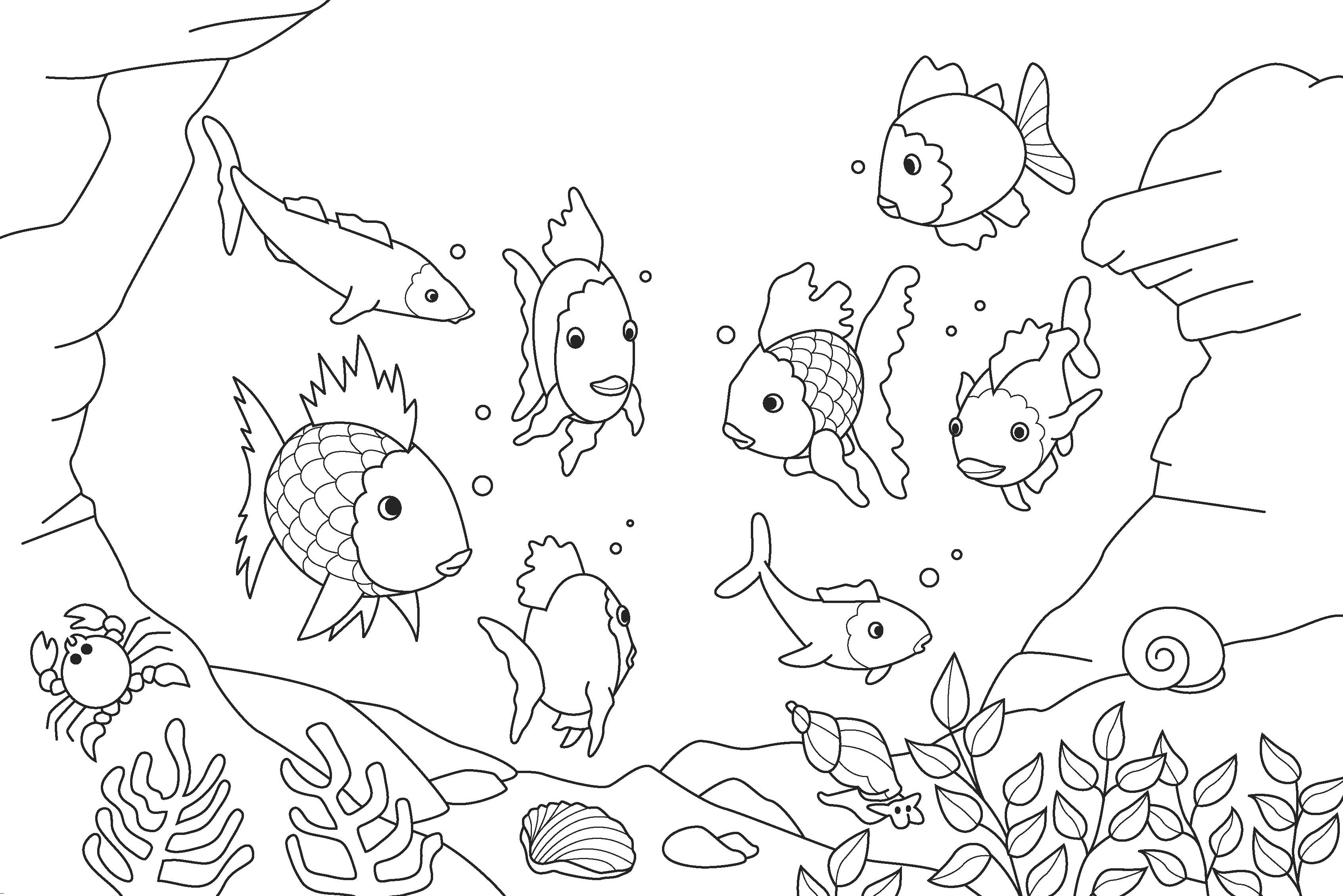 Sea World Colouring Pages - High Quality Coloring Pages