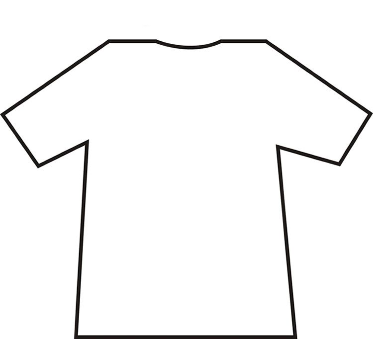 photograph regarding Football Jersey Template Printable called Blank Soccer Jersey Coloring Webpage - Coloring Residence