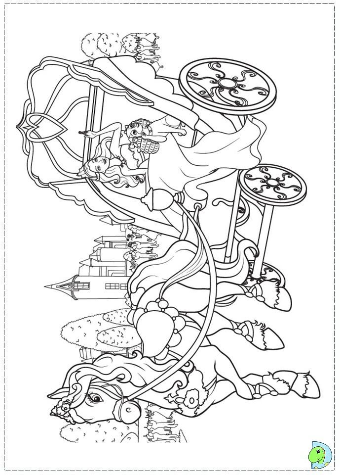 Barbie Popstar Coloring Pages : Coloring pages barbie princess home
