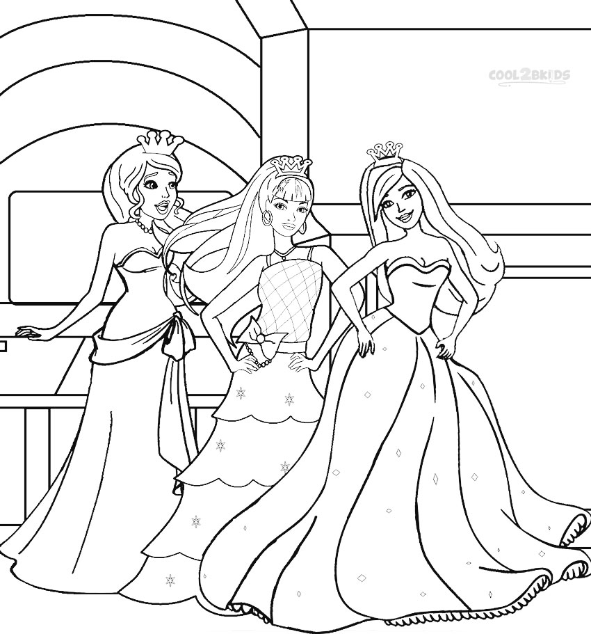Barbie The Princess And The Pauper Coloring Pages Princess And The Pauper Coloring Pages