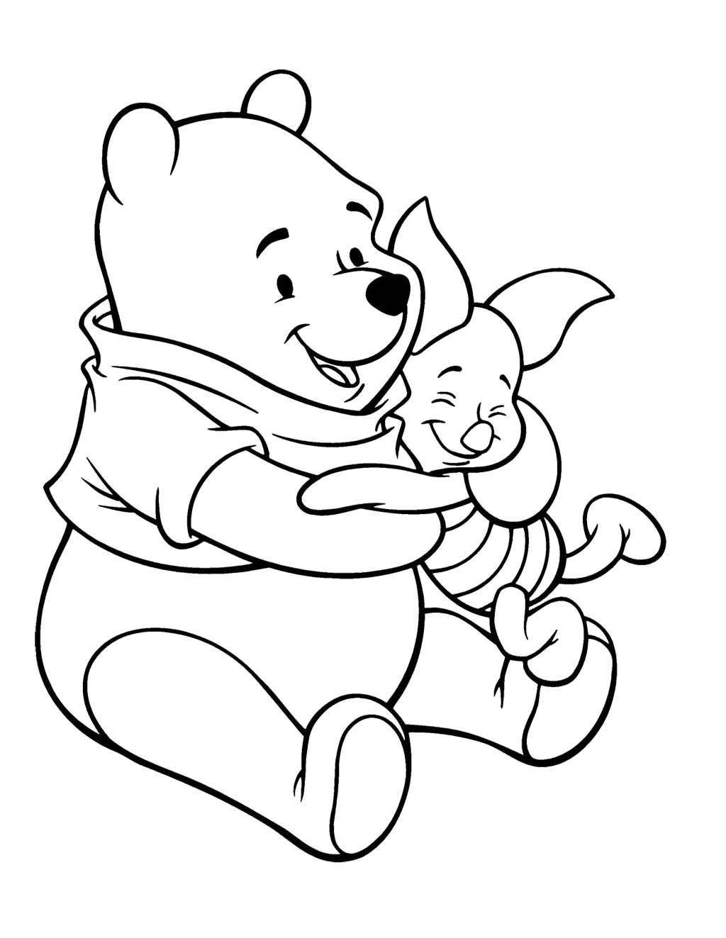 8 pics of piglet tigger and pooh coloring pages winnie the pooh - Tigger Piglet Coloring Pages