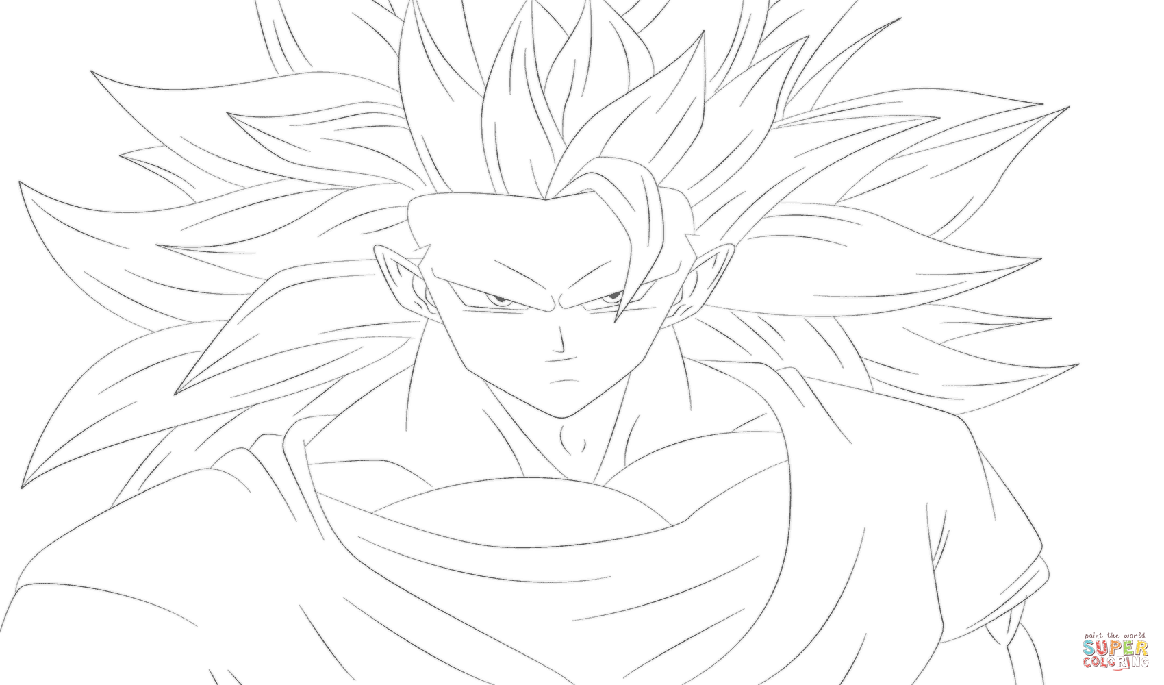 Dragon Ball Z Coloring Pages To Color Online - Coloring Home