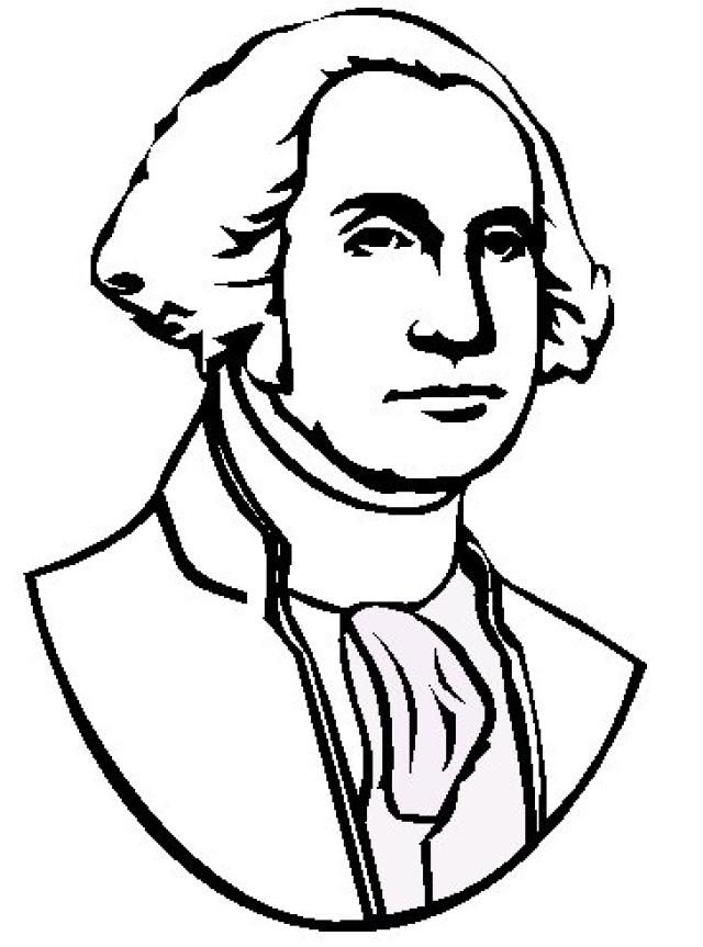 GEORGE WASHINGTON COLORING SHEETS Free Coloring Pages