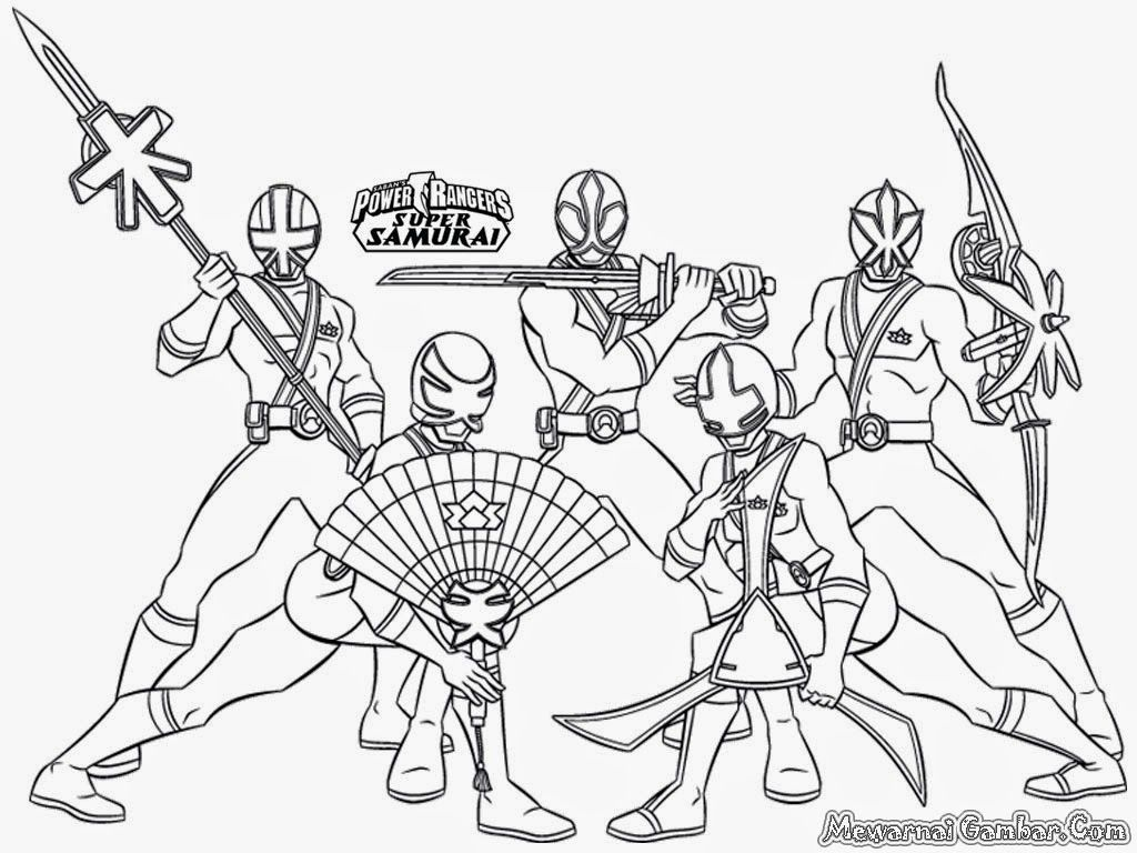 Coloring Pages Of Power Rangers Jungle Fury - Coloring Home