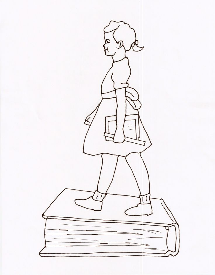 Ruby Bridges Goes To School By Coloring Page